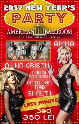 Oferta Revelion 2017 American Ballroom