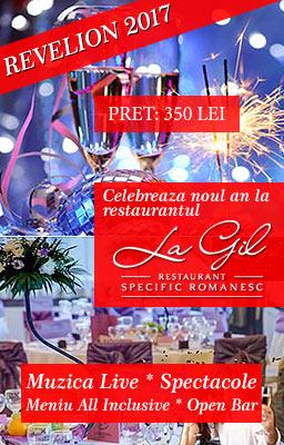 Oferta Revelion 2017 Restaurant La Gil