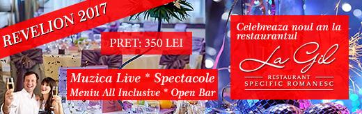Revelion 2017 Restaurant La Gil