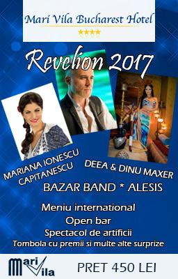 Oferta Revelion 2017 Mari Vila Hotel