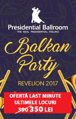 Oferta Revelion 2017 Presidential Ballroom