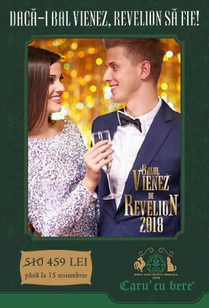 Oferta Revelion 2018 Caru cu Bere
