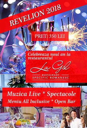 Revelion 2018 Restaurant La Gil