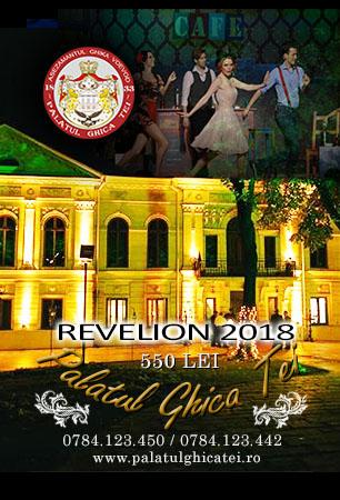 Oferta Revelion 2018 Palatul Ghica Tei