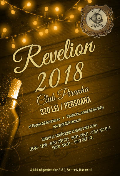 Revelion 2018 Club Piranha