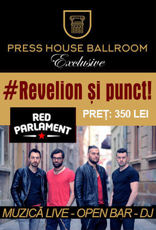 Revelion 2018 Press House Ballroom