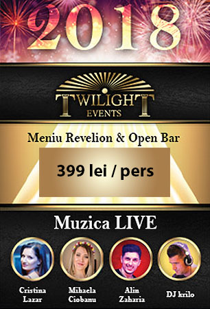 Oferta Revelion 2018 Twilight Events Hotel Pulman
