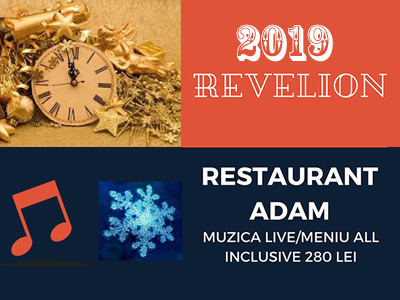 Revelion Bucuresti 2019 la Restaurant Adam