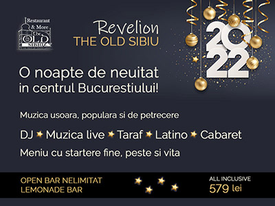 Revelion Bucuresti 2019 la  The Old Sibiu
