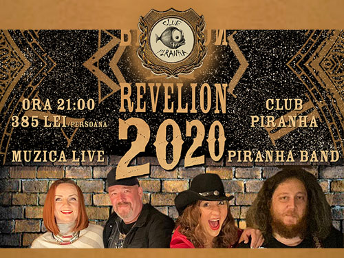 Revelion Bucuresti 2019 la  Club Piranha