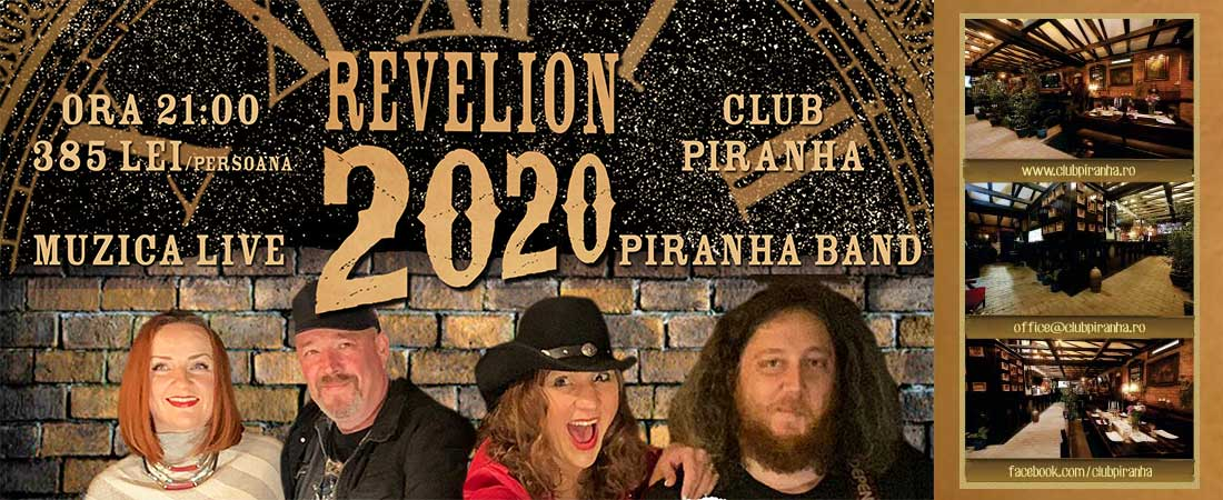 Oferta Revelion 2018 Club Piranha