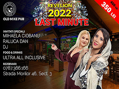 Revelion Bucuresti 2019 la  Old Mike Pub