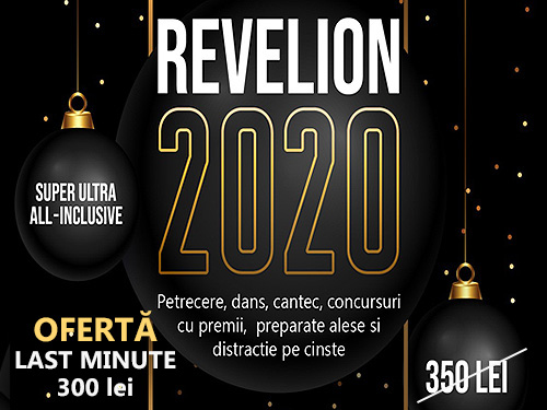 Revelion Bucuresti 2019 la Restaurant Nest