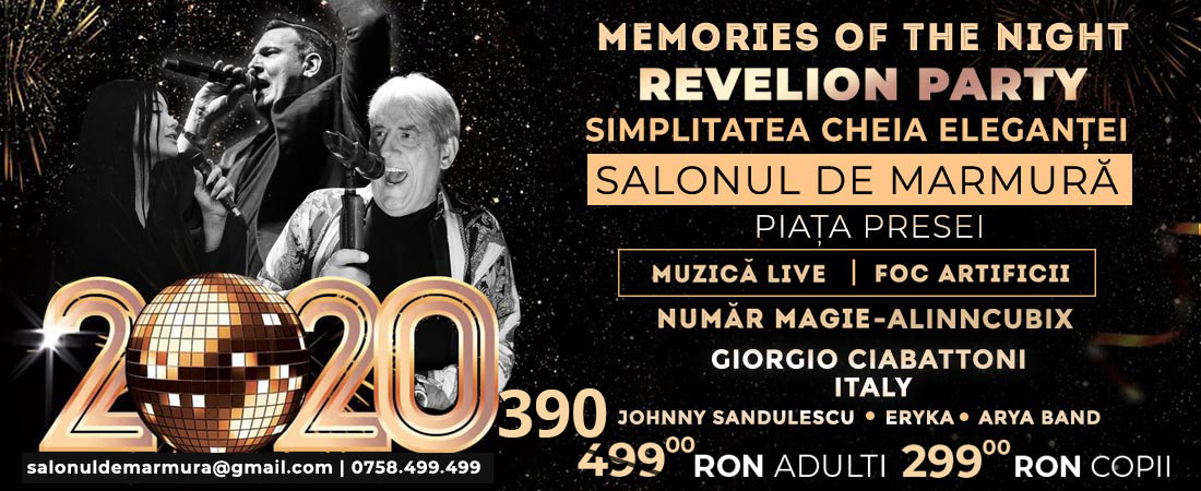 Oferta Revelion 2018 Press House Ball