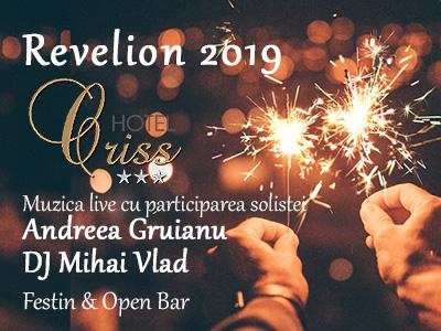 Revelion Bucuresti 2020 la Hotel Criss