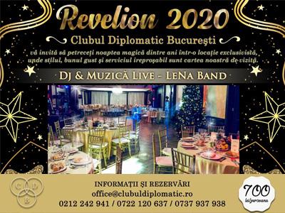 Revelion Bucuresti 2020 la  Clubul Diplomatic