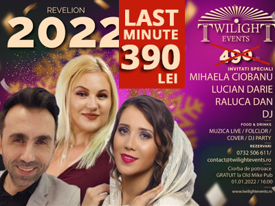 Oferta Revelion 2019 Twilight Events