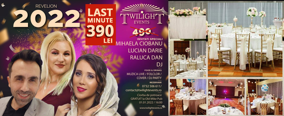 Oferta Revelion 2018 Twilight Events